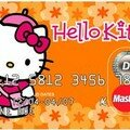 Hello kitty loves shopping!
