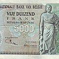 1971 5000francs verso Statue d´Escapelus