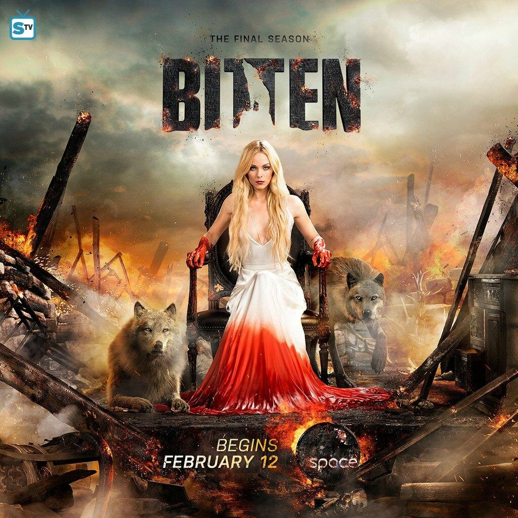 Bitten season 3 poster