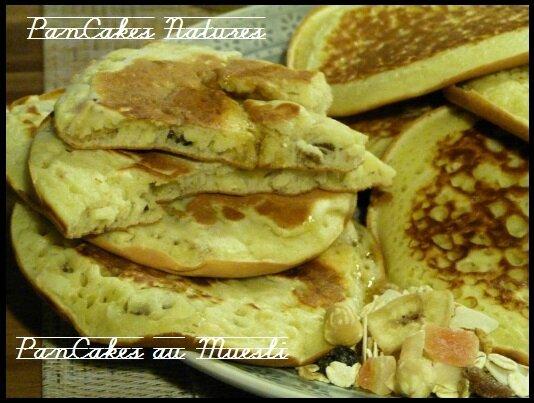 """ღ """" Miam """" PanCakes Souflés ( et pancakes au mueslis )"""