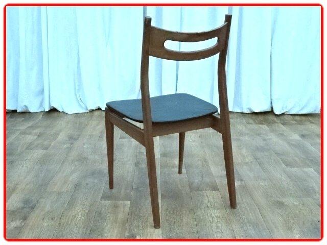 chaises teck 1960