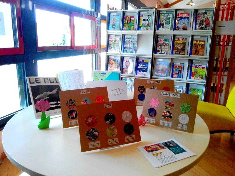 Médiathèque Mérindol - Atelier livre en origami - Delphine Minassiam