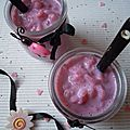 Riz au lait à la violette ♥♥♥ pour valentin(e)