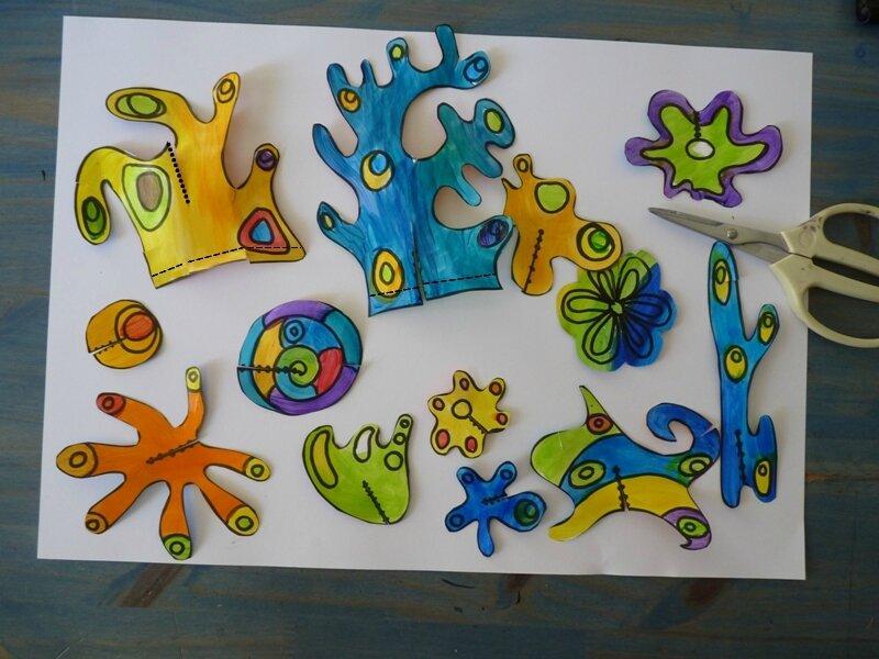 173_Compositions abstraites_Sculptures de papier18