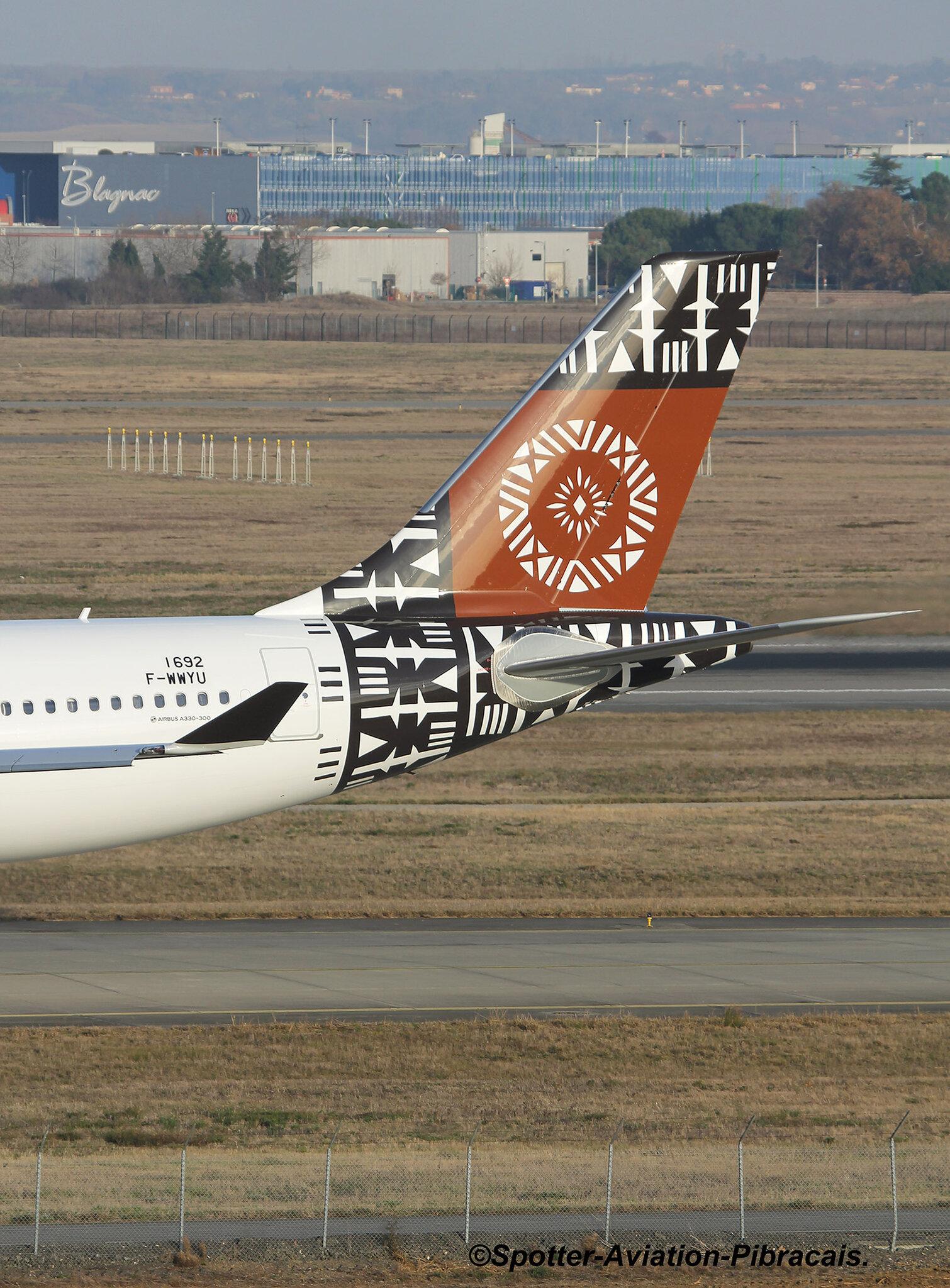 A roport toulouse blagnac tls lfbo fiji airways airbus a330 343 dq fjw f wwyu msn 1692 - Aeroport blagnac adresse ...