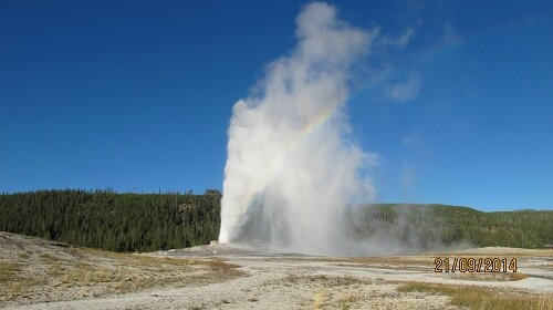 Yellowstone, Old Faithful Geyser (2)