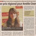 Félicitations, amélie !