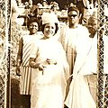 Germaine Ahidjo en 1963