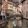 Annecy un jour d'automne....