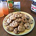 American cookies amandes-poire-chocolat