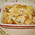 Crumble de pommes et coings