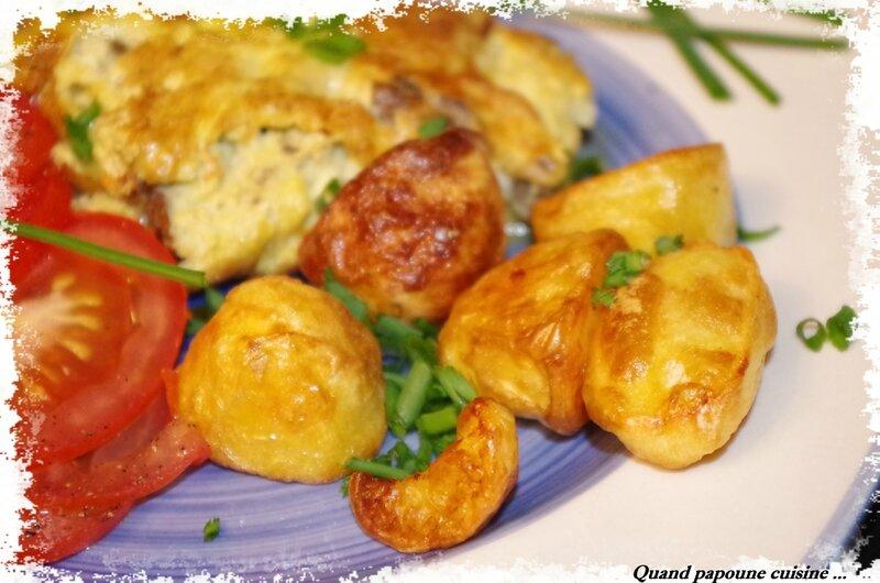 omelette aux mousserons, p de t soufflées-8