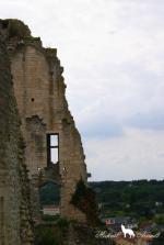 Les ruines du château baronnial (xiie siècle), ancien château des Évêques de Poitiers 4