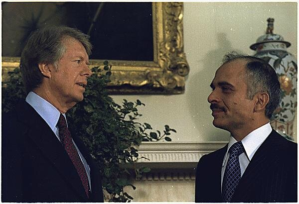 Carter_with_king_Hussein_19773647