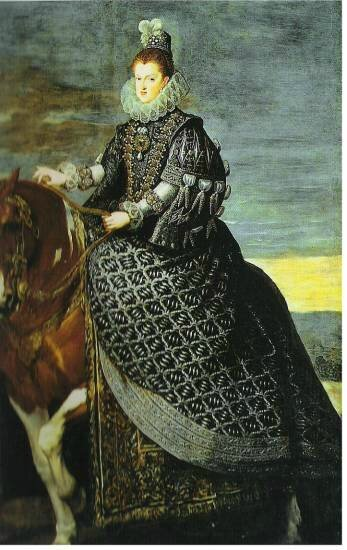 queen-margarita-on-horseback