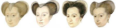 Chaperon des années 1580