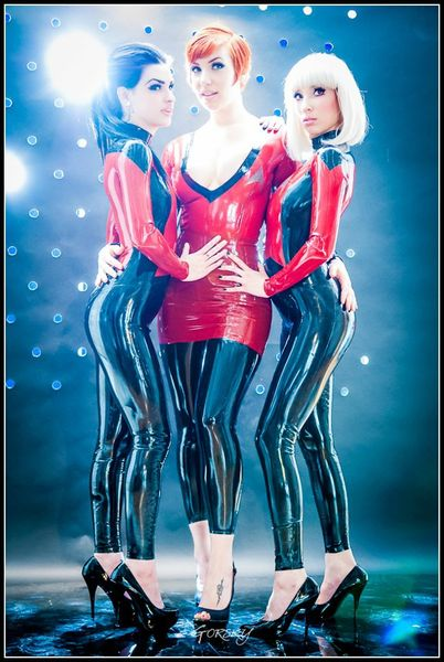 Star Trek latex sexy 1