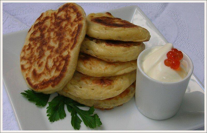 recette des authentiques blinis russes en photos chez gal gourmands avec leila