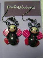 boucles miss papillon