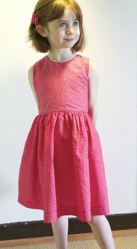robe rouge et rose vic