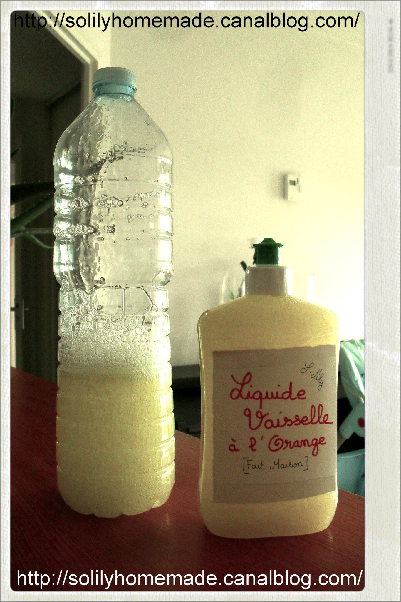 Liquide vaisselle maison qui mousse faire sa vaisselle pendant des mois en ne dpensant que - Recette liquide vaisselle maison moussant ...
