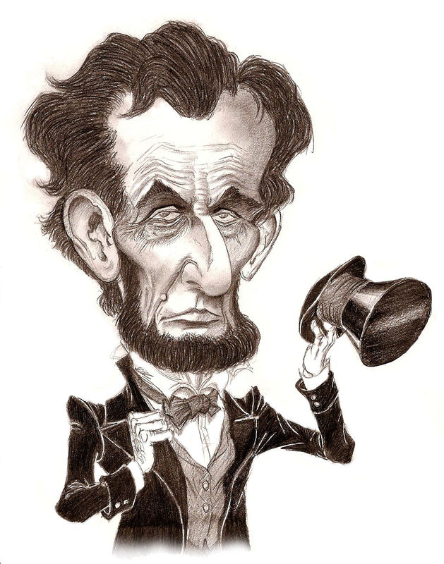 Pics For Gt Abraham Lincoln Caricature