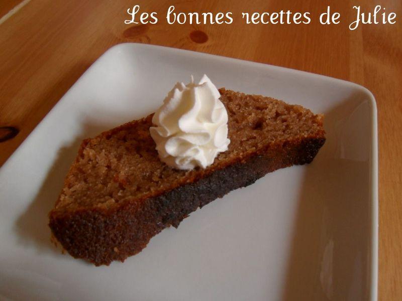 Cake aux châtaignes ~ à la crème de marron