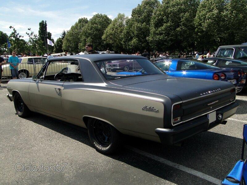 chevrolet chevelle malibu hardtop coupe 1964 d