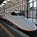 Shinkansen E2, Takasaki station