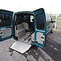 Renault kangoo handicap tpmr somac