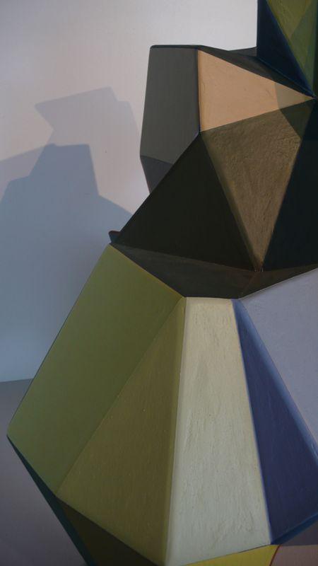Julien brunet-peintures et volume peint detail