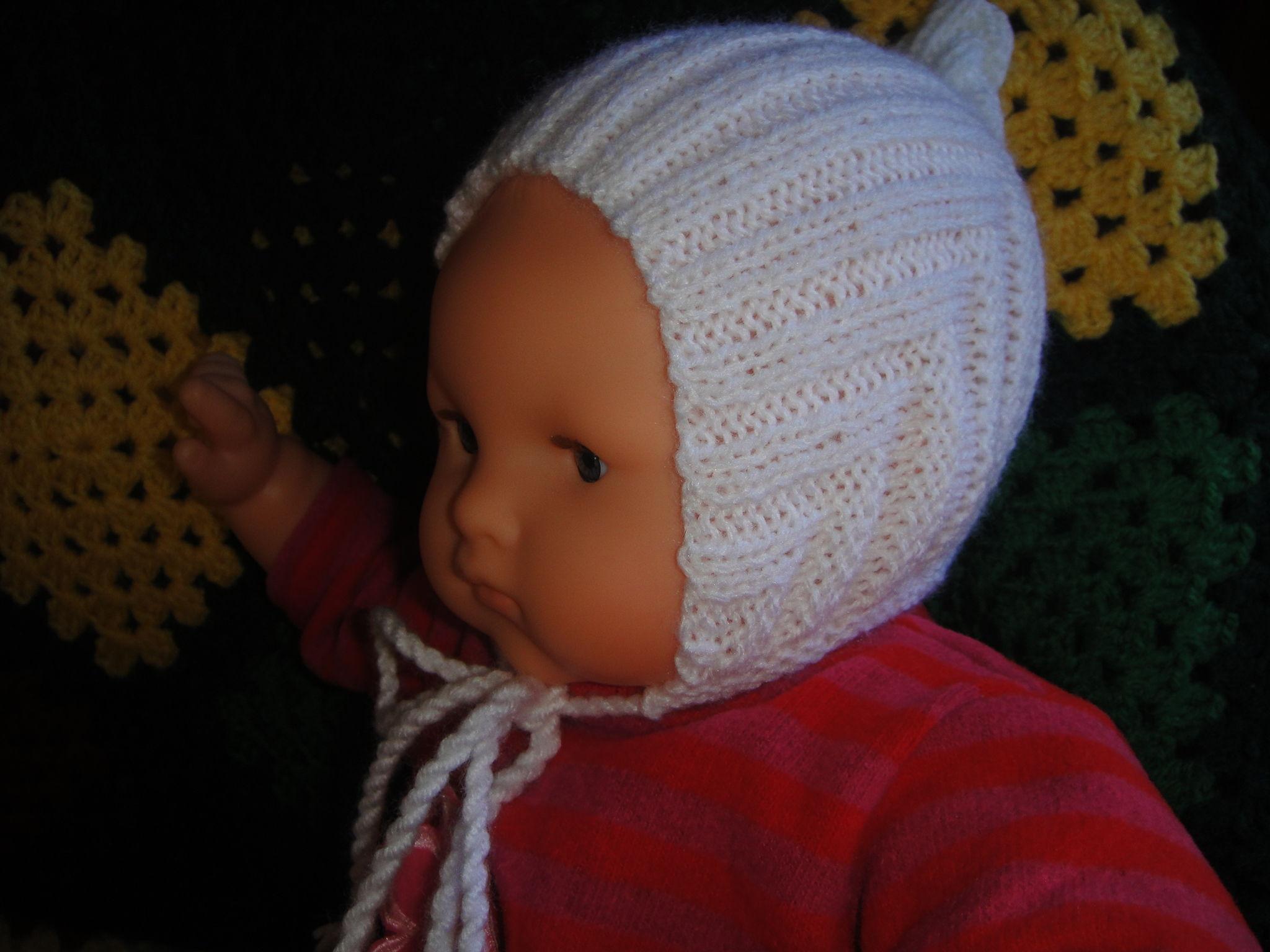 bonnet simple bebe