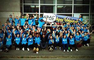 APAS'LYMPIQUES 2013, groupe complet