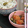 Kefta de sardines, riz basmati & sauvage {recette}