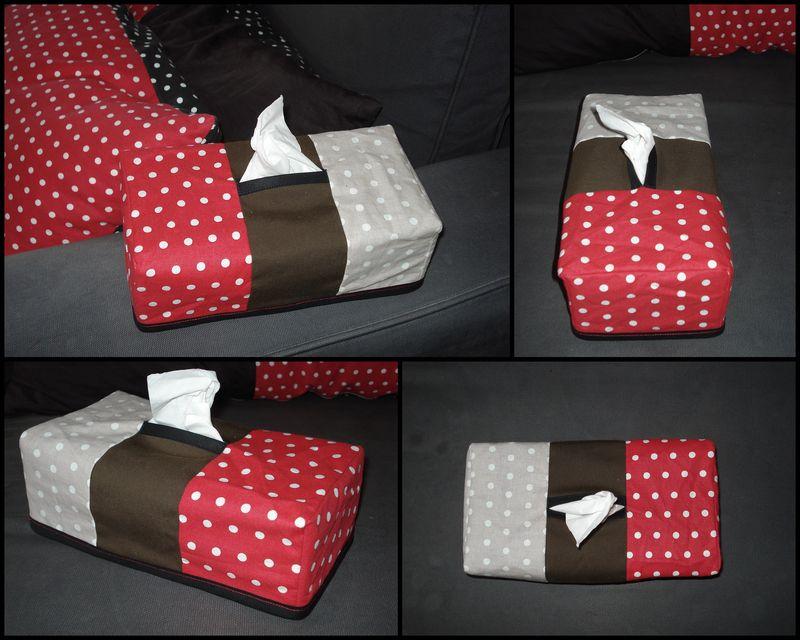 tui pour bo te mouchoirs au fil des coutures. Black Bedroom Furniture Sets. Home Design Ideas