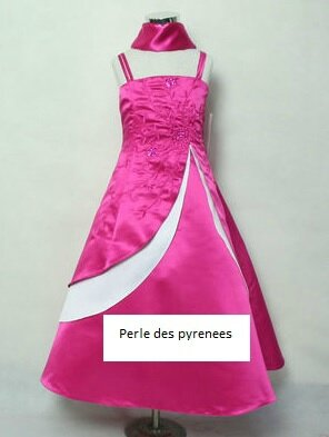 Robe soiree 2018 fillette