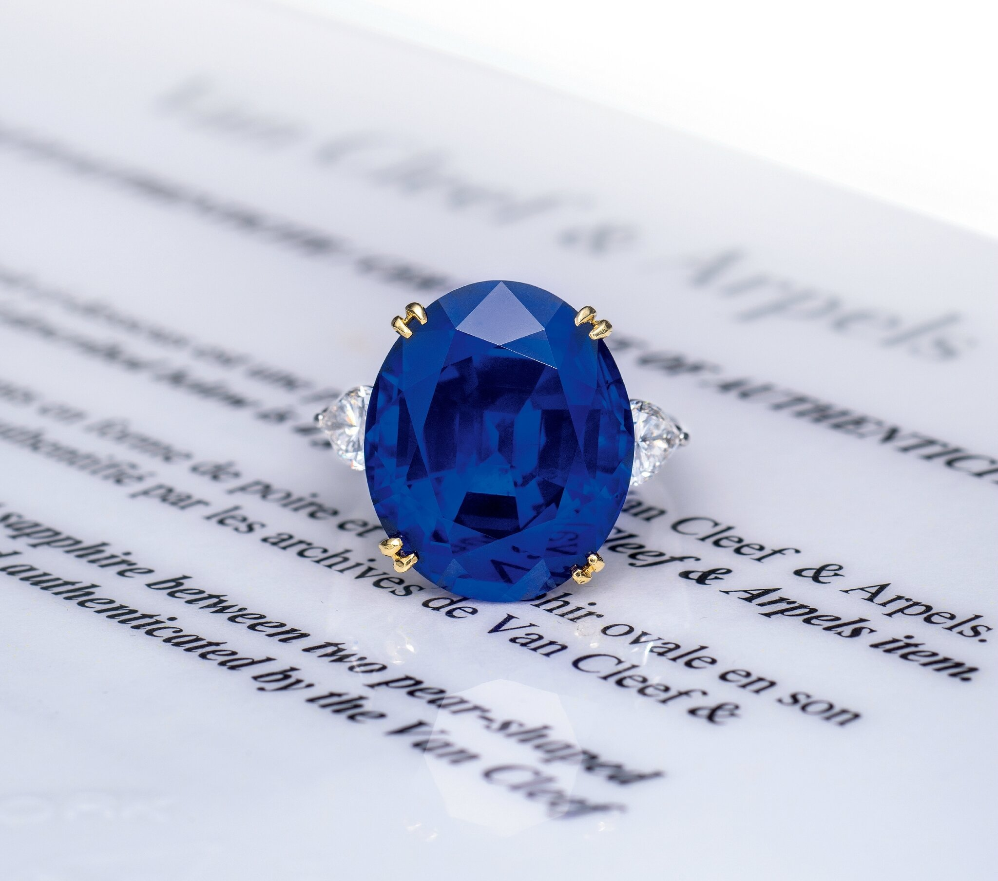 cluster ring burmese her gifts sapphire for diamond detail and birthday nettletons sapp