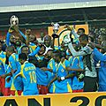 Nous sommes champions d'afrique