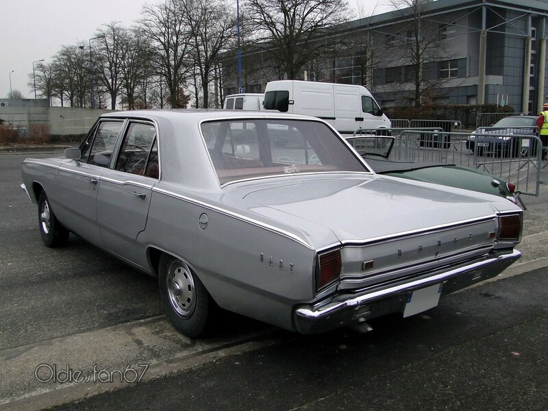 dodge dart 4door sedan 1967 b