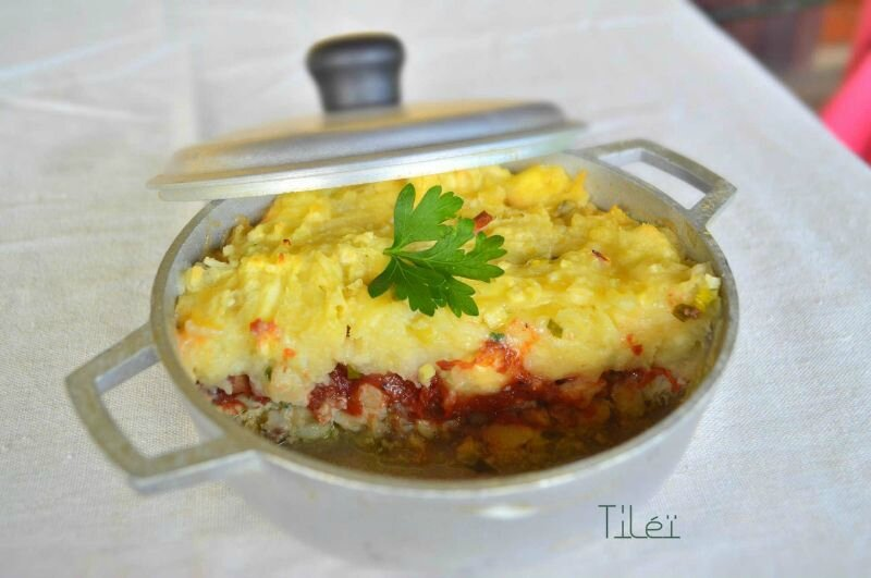 Parmentier de capitaine au fruit à pain