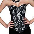 Nouvel arrivage de corsets pour les fêtes