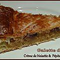 Galette des rois noisettes chocolat