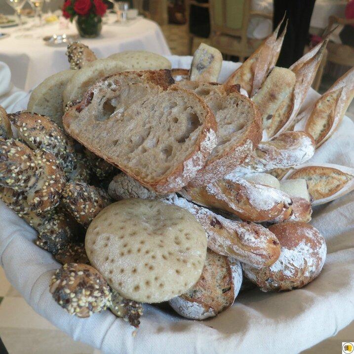 Corbeille de pains