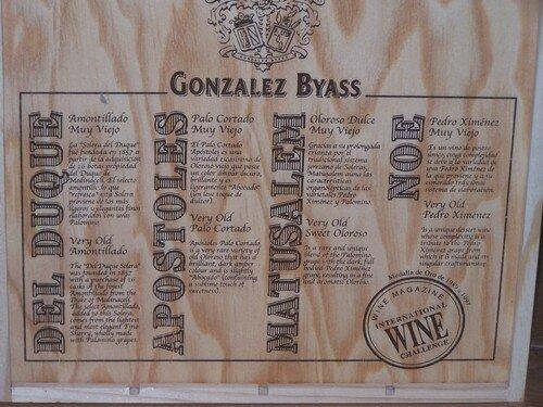Jerez-coffret Gonzalez y Byass