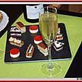 Champagne terroir huguenot tassin + amuses-bouche