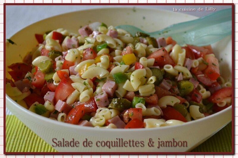 salade de coquillettes & jambon