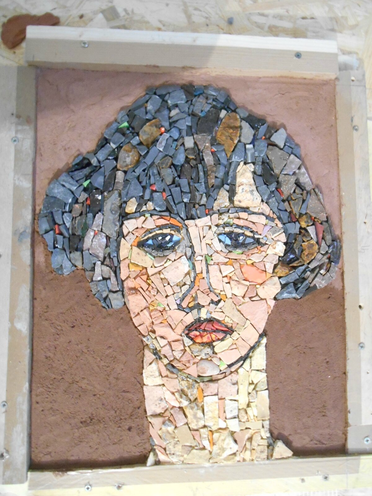 Ma dernière création, d'après un tableau de Modigliani