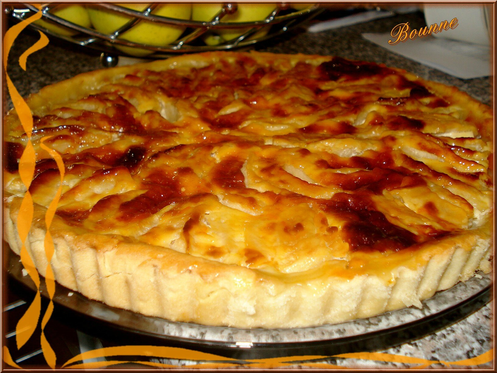 Tarte aux pommes grand m re passion sucr e - Crepes aux pommes grand mere ...