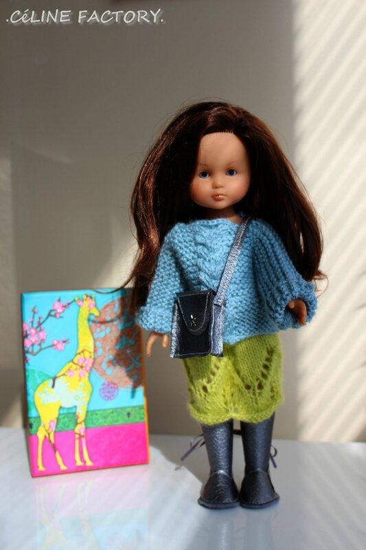 Chérie - Pull et jupe en laine 1