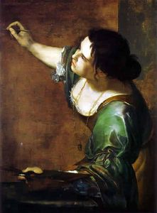 Allégorie de la peinture Autoportrait